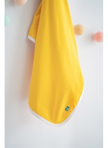 Nila Kids Nila Kids Yellow Blossom Organik Battaniye Renkli